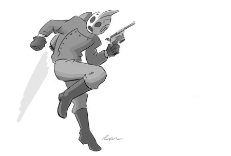 Rocketeer Sketch